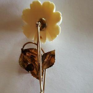 winard Jewelry - Vintage rose brooch